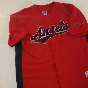 Men's Angels baseball Jersey- dynasty series